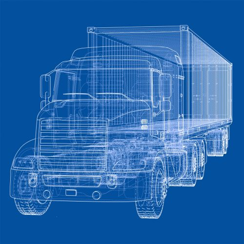 Accident Reconstructionist's Semi Truck Diagram - The Robenalt Law Firm, Inc.