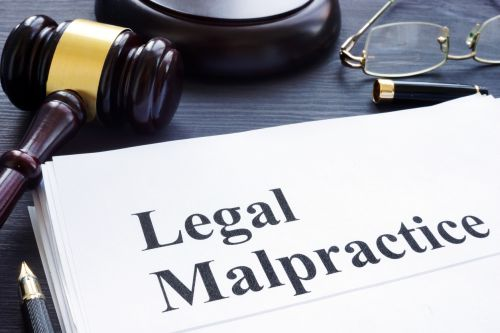 Documents about Legal Malpractice in a court.